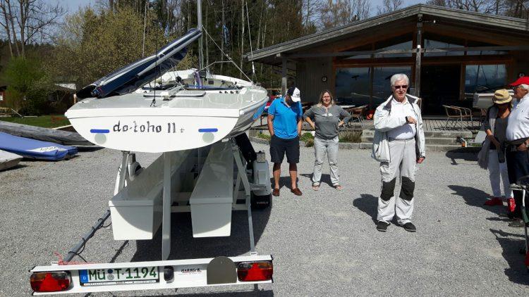 16.04.2018 / Simssee-Auftakt mit 18 Booten